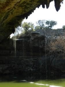 waterfall at hamilton pool
