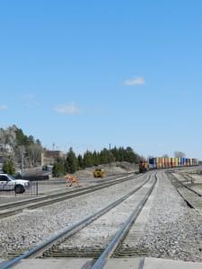 railroad tracks flagstaff