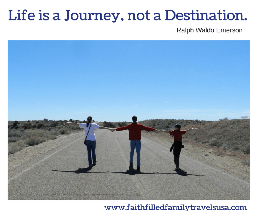 Faith-Filled Family Travels USA - Life is a Journey