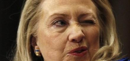Hillary Clinton winks at ISIS