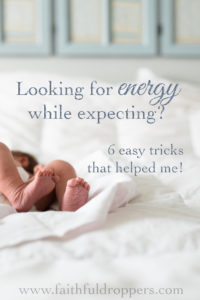needing energy during pregnancy