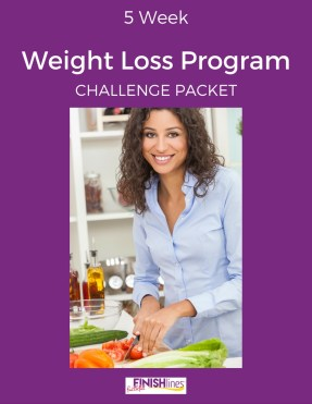 5 Week Weight Loss Program Challenge Packet