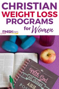 At Faithful Finish Lines, we offer a variety of Christian weight loss programs for women that keep God at the center of your weight loss journey.