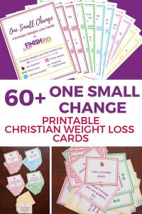 Christian weight loss cards