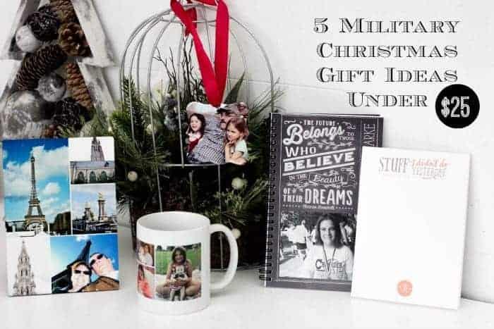 5 Military Christmas Gift Ideas Under $25 | Faithfully Free