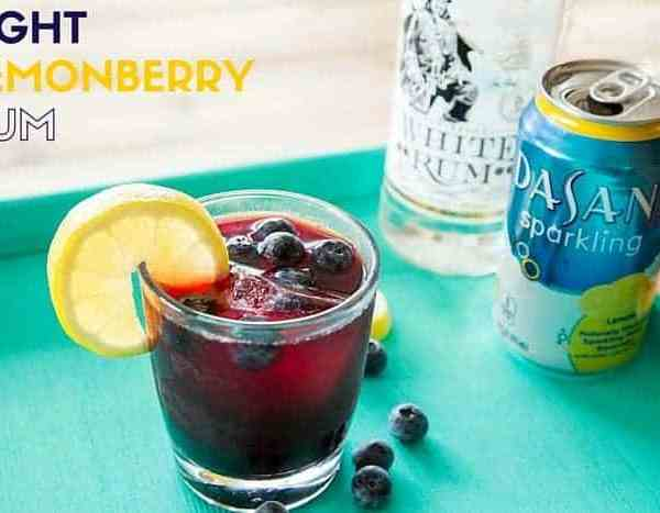 Light Lemonberry Rum Drink Recipe