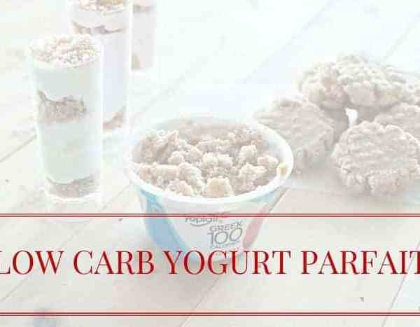 Low Carb Mini Yogurt Parfaits