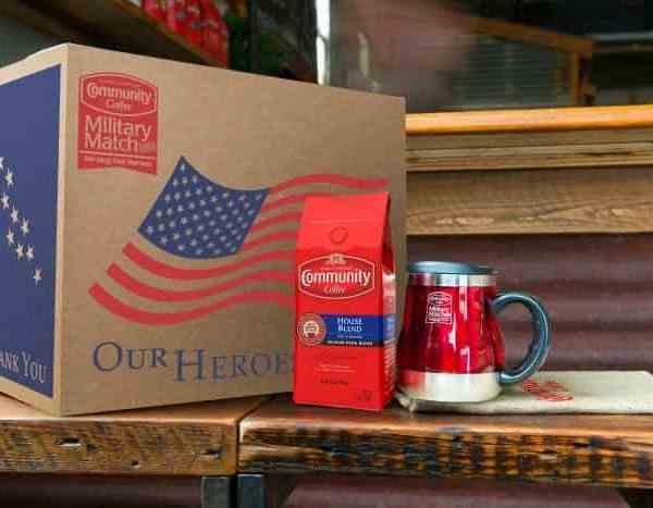 Community Coffee #MilitaryMatchContest