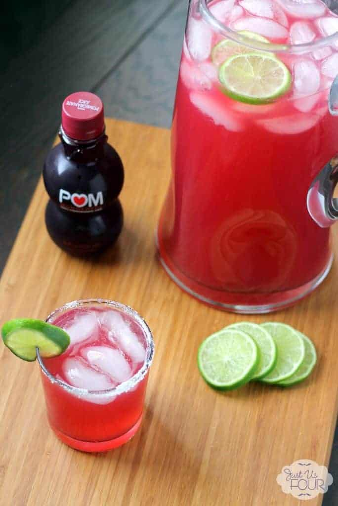 Three-ingredient-pomegranate-margarita