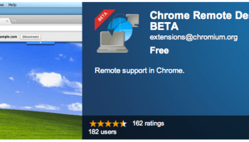 chrome extension remote desktop