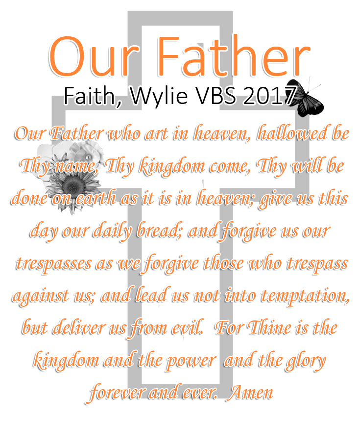VBS July 17 – 21