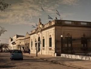 San Antonio deAreco, a Spanish colonial-era town 80 miles east of Buenos Aires.