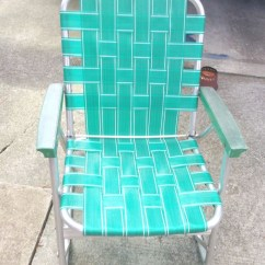 Old Fold Up Rocking Chair Folding Picnic Chairs Uk Repairing A Vintage Webbed Lawn | Faith Stitched Home