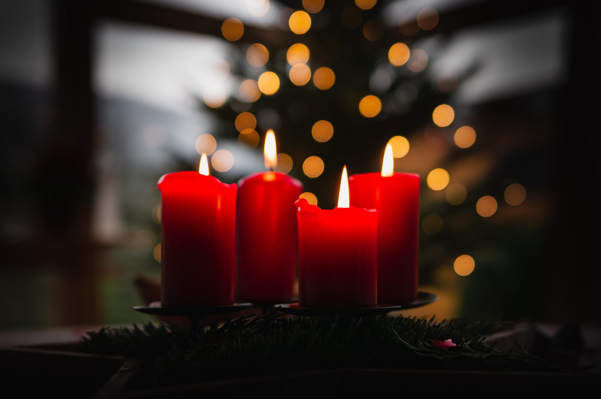 advent candle lighting readings