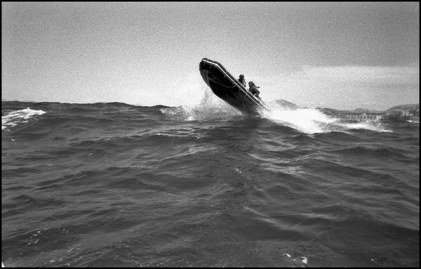 Marseille juillet 2005 11H00 plongeurs de la snsm.