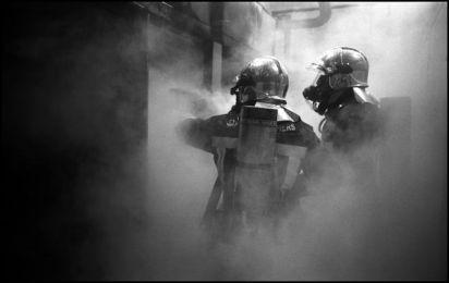 Angoulême Janvier 2004 2h32, usine la saft incendie atelier.