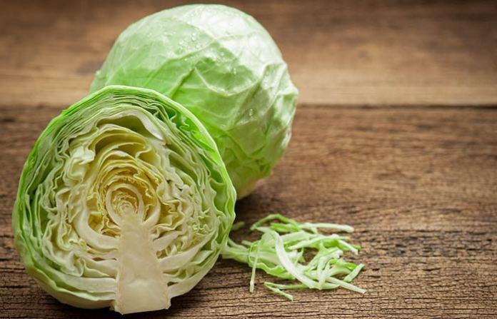 Cabbage facial scrub