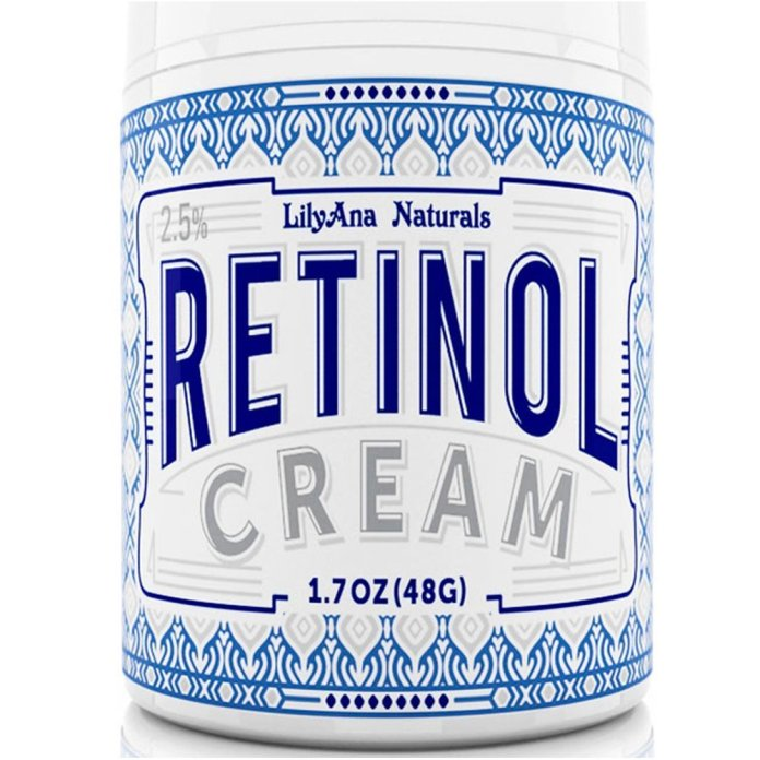 Retinol wrinkle cream