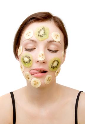 Banana face mask Faiza Beauty Cream