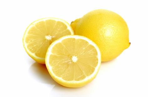 Lemon for sun tan