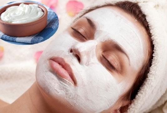 Yogurt face Mask Faiza Beauty Cream