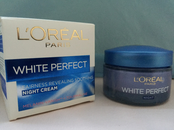 L'Oreal Paris White Perfect Night Cream Whitening faiza beauty cream