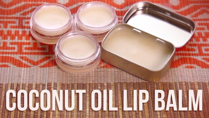 coconut oil lip balm faiza beauty cream