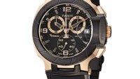 Jam Tangan Lelaki Pilihan   Tissot Men's T-Sport Rose – Gold PVD Black Rubber Strap Watch