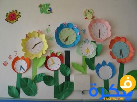Mother Dream افكار لعمل ساعات تعليميه للاطفال لتعليمه الوقت