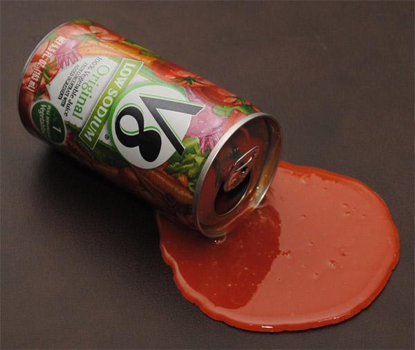 vegtable juice spill 12