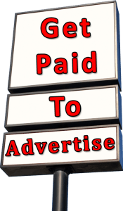 Get Paid To Advertise