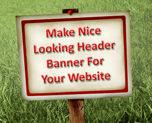 How to add header banner in WordPress Website