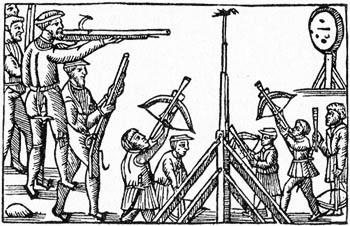 Olaus Magnus - Om papegojskjutning