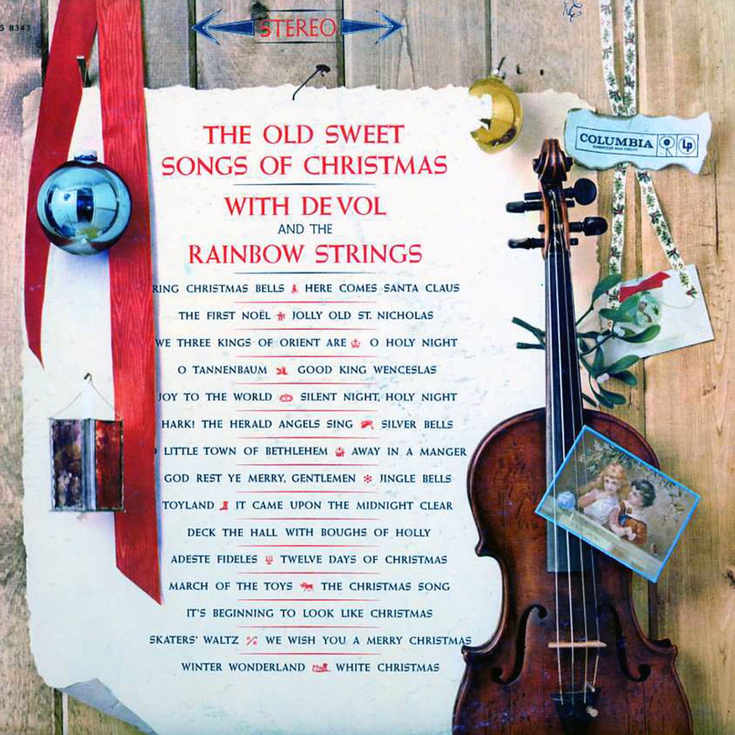 The Old Sweet Songs of Christmas by Frank DeVol & the Rainbow Strings