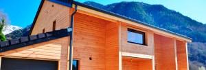 maison à ossature bois , constructeur de maison en ossature bois, falco constructions bois