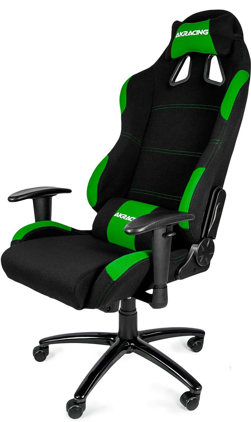 AK Racing Gaming Chair Black Green  Falcon Computers