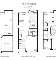 2120 sq ft 4 bedroom 2 5 bath [ 1200 x 712 Pixel ]
