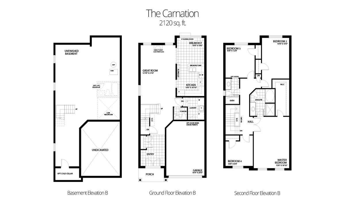 hight resolution of 2120 sq ft 4 bedroom 2 5 bath