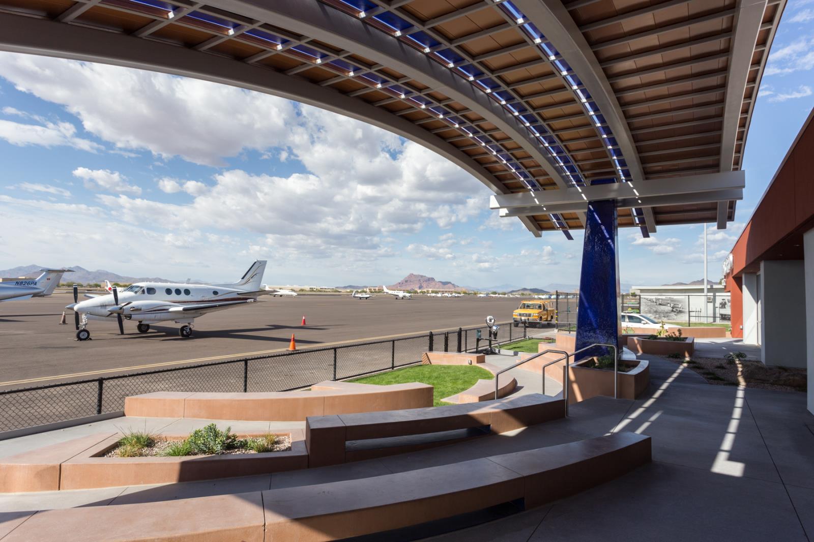Falcon Field Terminal  Falcon Field Airport