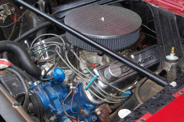 V8 1968 Door Red 2 Ford Falcon