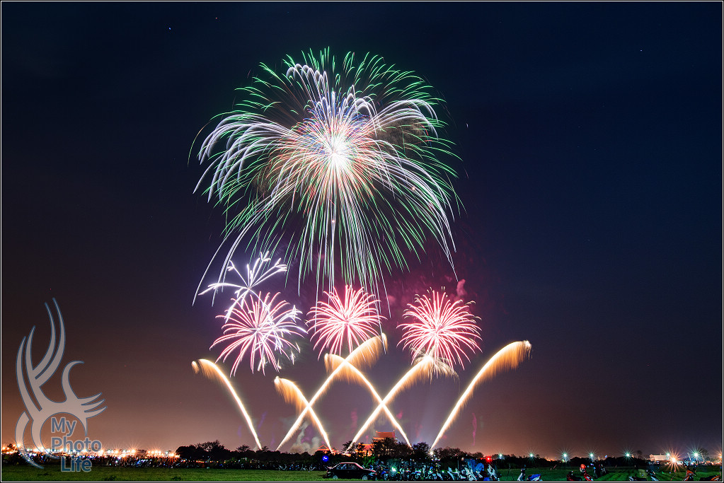 20190216正統鹿耳門聖母廟慶元宵煙火.第二梯次高空煙火(含錄影)