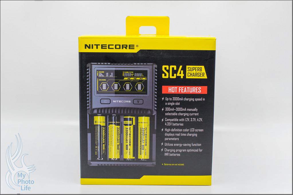 NITECORE SC4 智能迅充充電器.簡易開箱