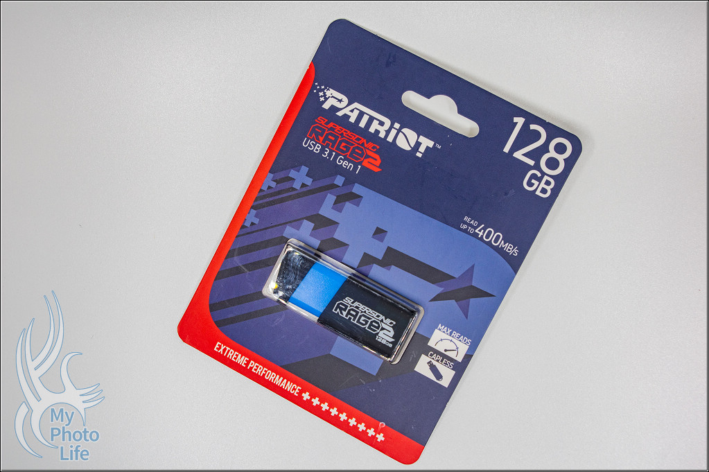 美商博帝Patriot Rage2 128GB USB3.1 隨身碟.開箱&簡單測試