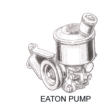 1963-1965 EATON POWER STEERING PUMP SEAL KITS