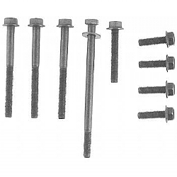 1962-1964 WATER PUMP BOLT SETS ALUMINUM PUMP W/ GENERATOR