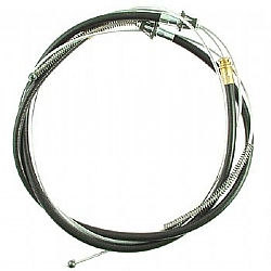 1964-1965 REAR BRAKE CABLE- 6 CYLINDER EXCEPT CONVERTIBLE