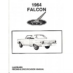 1964 ILLUSTRATED PRICING & SPECIFICATION MANUALS