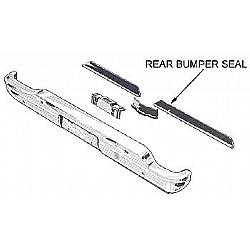 1960-1965 REAR BUMPER SEALS