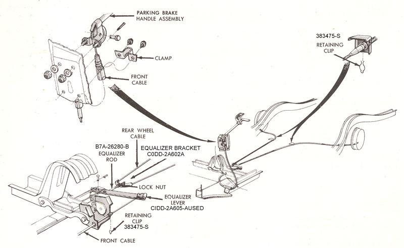 1965 ford falcon wiring diagram supra 2jz gte parking brake enterprises