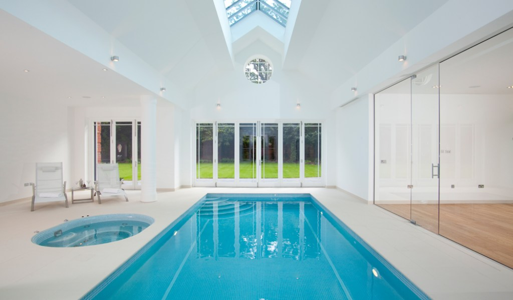 Indoor Swimming Pool - Home & Garden Improvement Design Collaboration